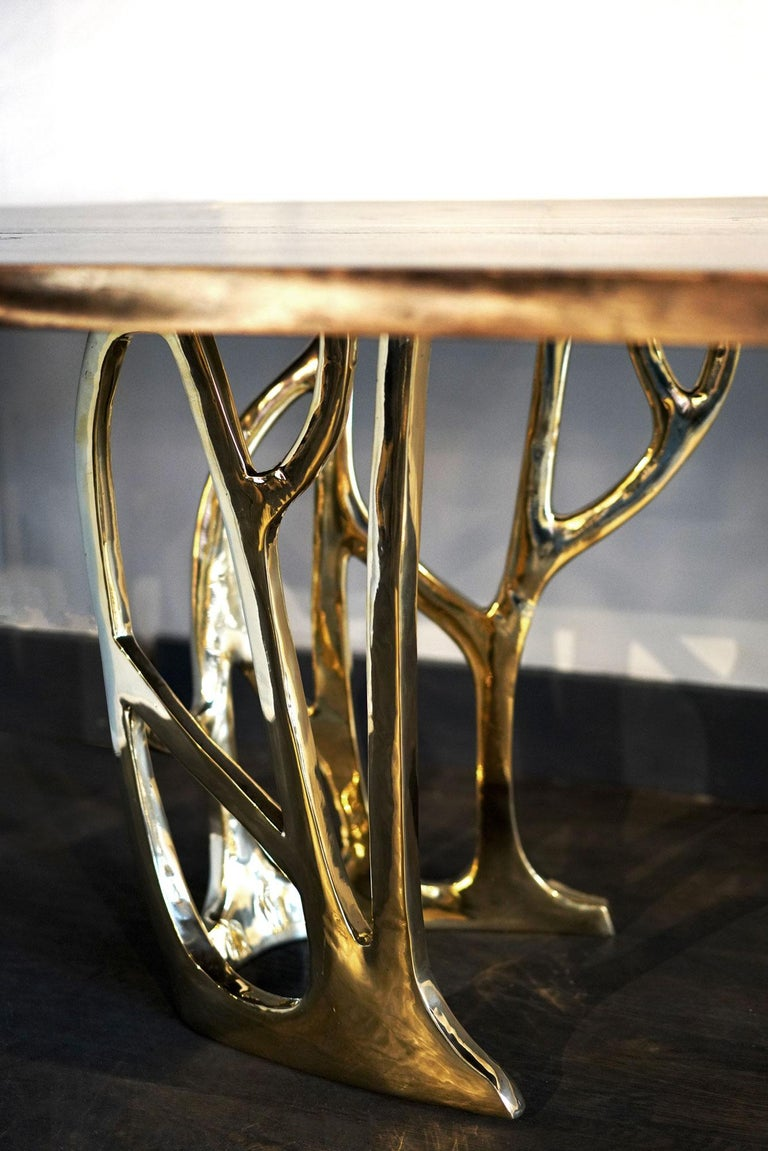 Modern Grove Dining Table For Sale