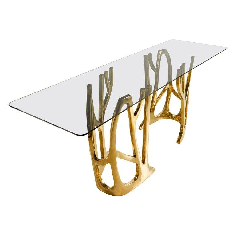 Contemporary Grove Dining Table For Sale