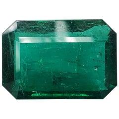 Takat 69.01 Cts. GRS & C.Dunaigre Certified Zambian Vivid Green Emerald