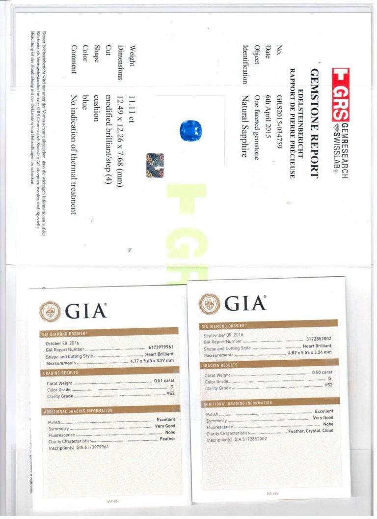 GRS Certified 11.11 Carat