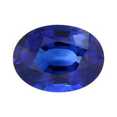 GRS Certified 3.80 Carat Royal Blue Sapphire