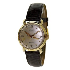 Gruen Yellow Gold Filled Original Dial Art Deco Manual Wristwatch, circa 1940s