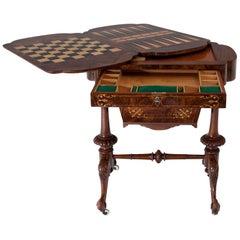 Gründerzeit Game Table, circa 1880