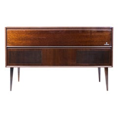 Grundig KS 620 U Turntable Console Stereo Cabinet Credenza with Turntable