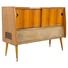 Grundig Mid Century Stereo Record Console