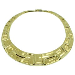 Bruno Guidi 18 Karat Gold Necklace in the Style of Burle Marx