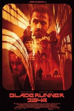 Grzegorz Domaradzki - Blade Runner 2049 - Contemporary Cinema Film Movie Posters
