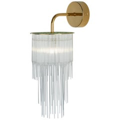 GS Wall Light by Tom Kirk in Polished Gold