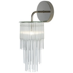 GS Wall Light by Tom Kirk in Polished Nickel