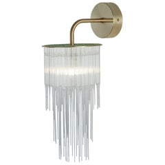 GS Wall Light by Tom Kirk in Brushed Brass