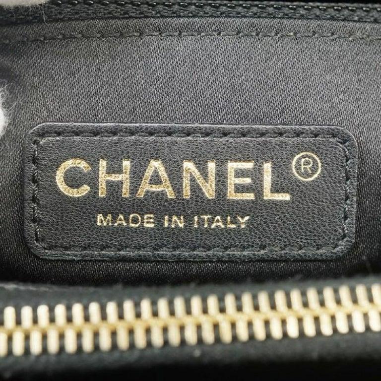 GST tote bag  Womens  shoulder bag A50995  black x gold hardware Leather For Sale 7