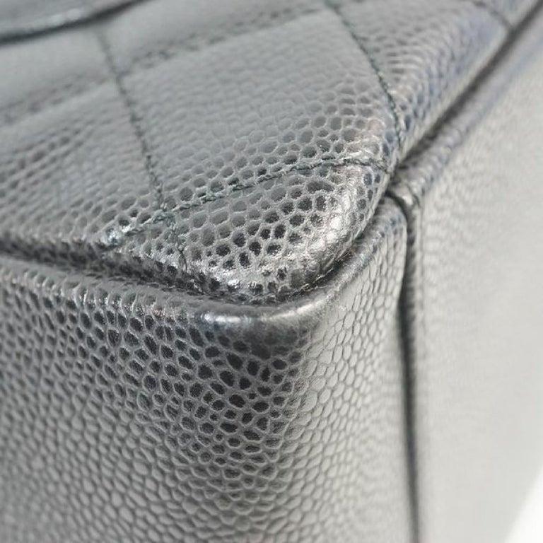 GST tote bag  Womens  shoulder bag A50995  black x gold hardware Leather For Sale 1
