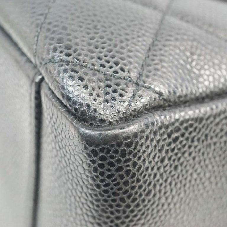 GST tote bag  Womens  shoulder bag A50995  black x gold hardware Leather For Sale 2