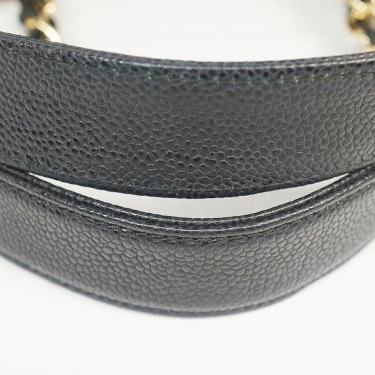 GST tote bag  Womens  shoulder bag A50995  black x gold hardware Leather For Sale 3