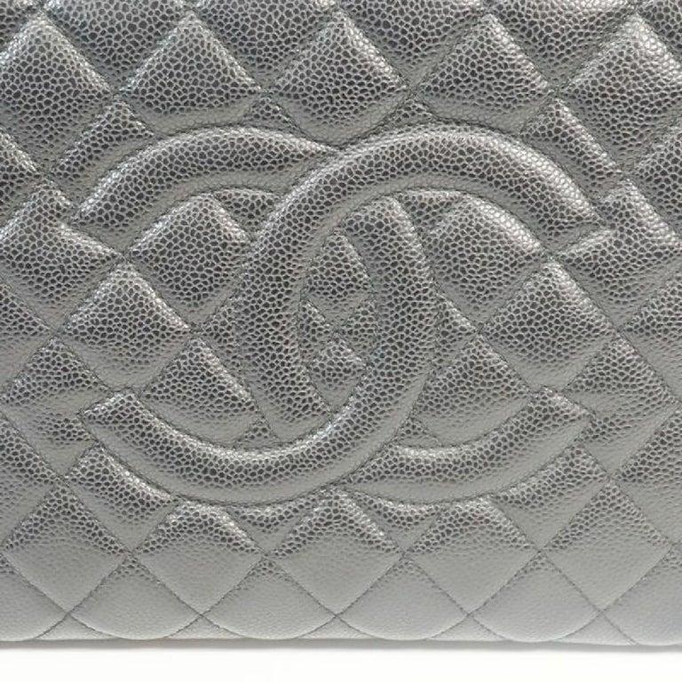 GST tote bag  Womens  shoulder bag A50995  black x gold hardware Leather For Sale 4