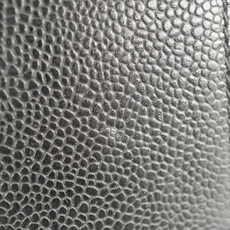 GST tote bag  Womens  shoulder bag A50995  black x gold hardware Leather For Sale 5