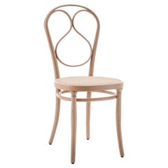 GTV Thonet N.1 Chair in Beechwood with Cane Seat by Michael Thonet