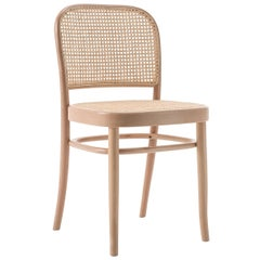GTV Thonet N.811 Chair in Beechwood with Cane Seat by Josef Hoffmann