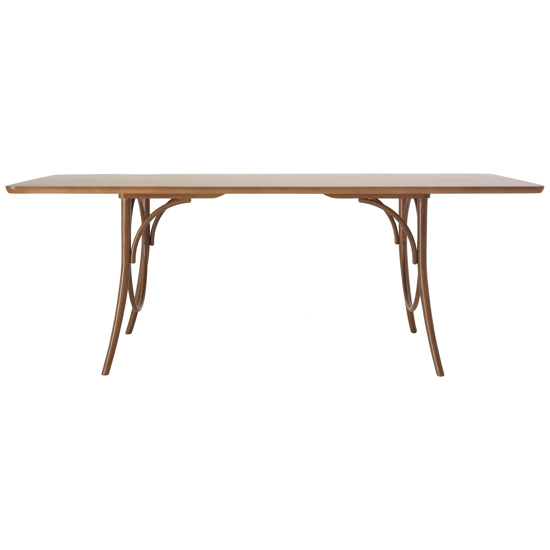 Gebrüder Thonet Vienna GmbH Ring Dining Table in Beech