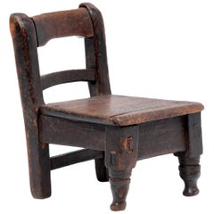 Guatemalan Child's Chair, circa 1900