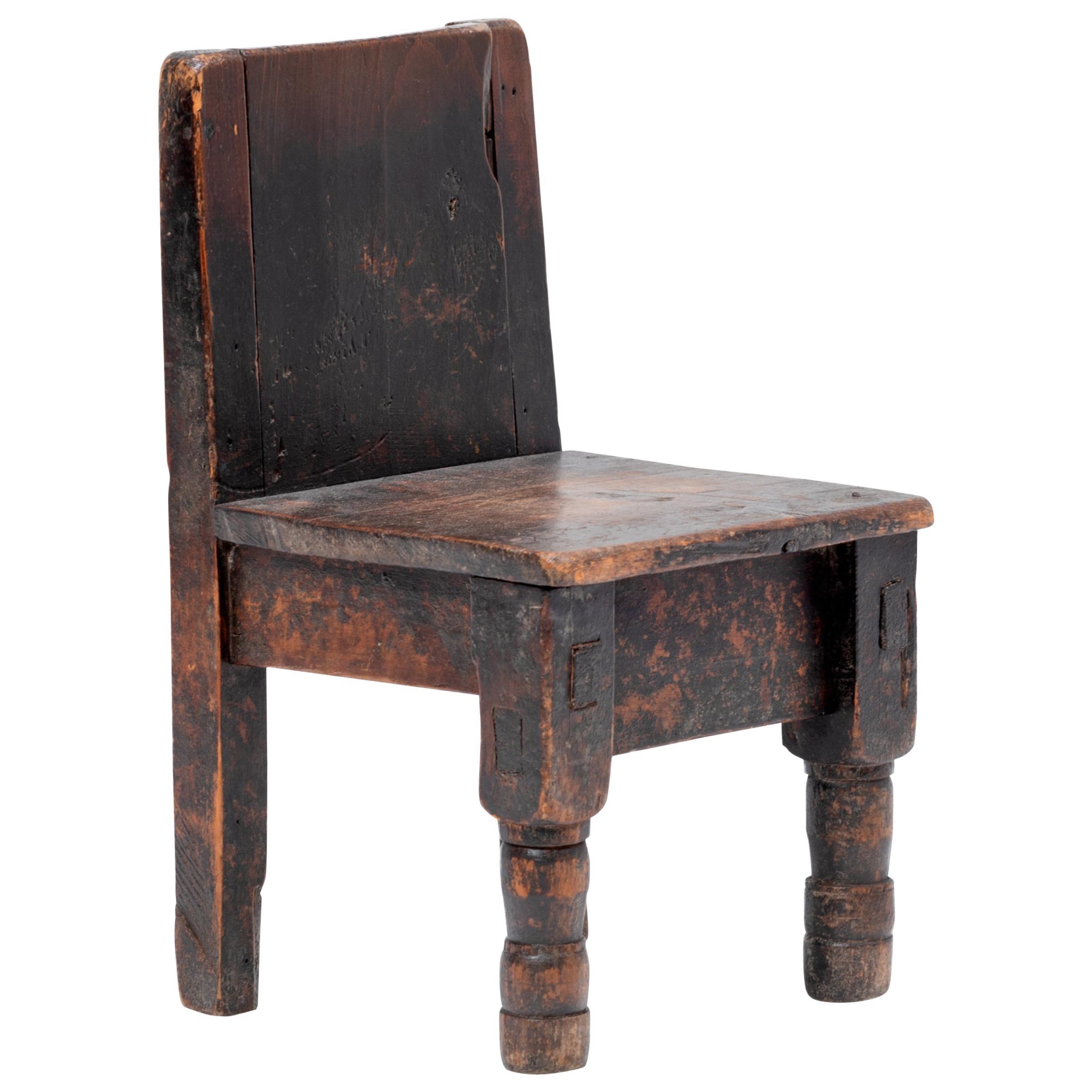 Guatemalan Child's Chair, circa 1900