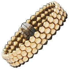 Gubelin 18 Karat Gold Strap Bracelet