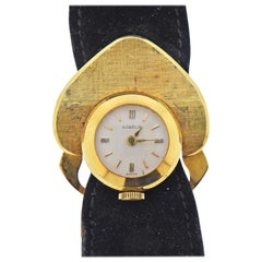 Gubelin 1970s Gold Watch