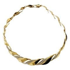Gubelin Diamond Gold Necklace