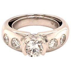 Gübelin Diamond White Gold 750 Ring