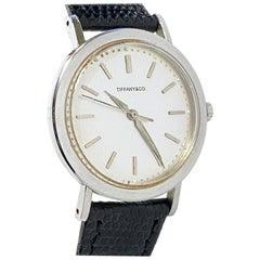 Gubelin for Tiffany & Co. Vintage Steel Automatic Wrist Watch