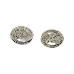 Gubelin Gold Diamond Cancer Zodiac Sign Stud Earrings