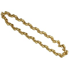 Gubelin Gold Links Chain Necklace