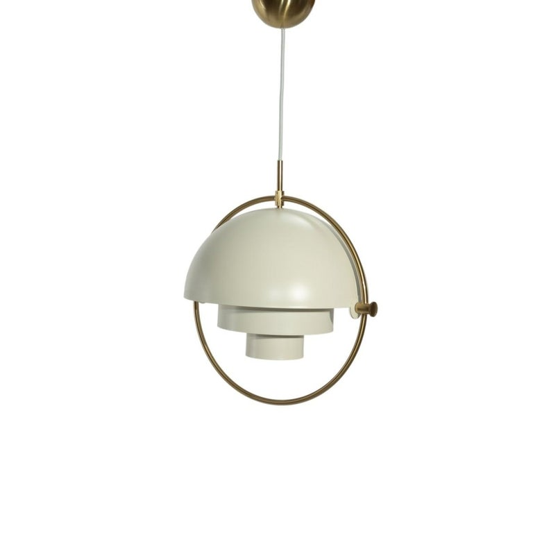 German Gubi Multi-Lite Pendant Light by Louis Weisdorf For Sale