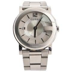 Gucci 101J Quartz Watch Stainless Steel 36