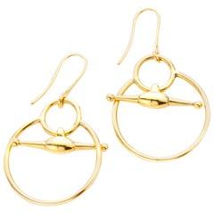 Gucci 18 Karat Gold Ladies Earrings