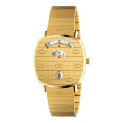 Gucci Gold PVD Grip Watch YA157403