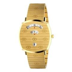 Gucci 18 Karat Yellow Gold Grip Watch YA157409