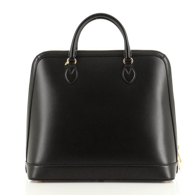 Gucci 1955 Horsebit Duffle Bag Leather Large In Good Condition For Sale In New York, NY