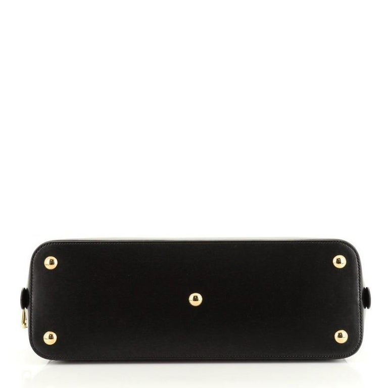 Women's or Men's Gucci 1955 Horsebit Duffle Bag Leather Large For Sale