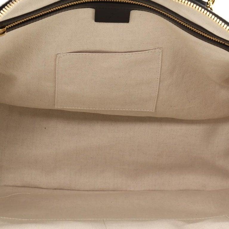 Gucci 1955 Horsebit Duffle Bag Leather Large For Sale 1