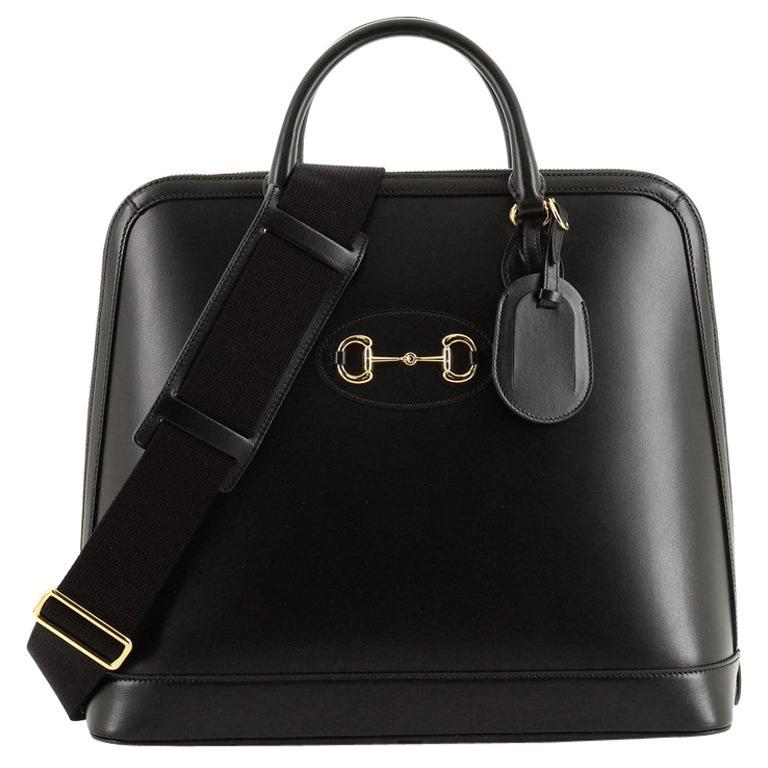 Gucci 1955 Horsebit Duffle Bag Leather Large For Sale