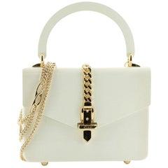 Gucci 1969 Sylvie Top Handle Bag Plexiglass Mini
