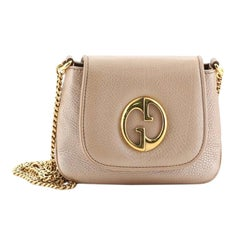 Gucci 1973 Chain Shoulder Bag Leather Small