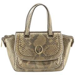 Gucci 1973 Top Handle Bag Python Small