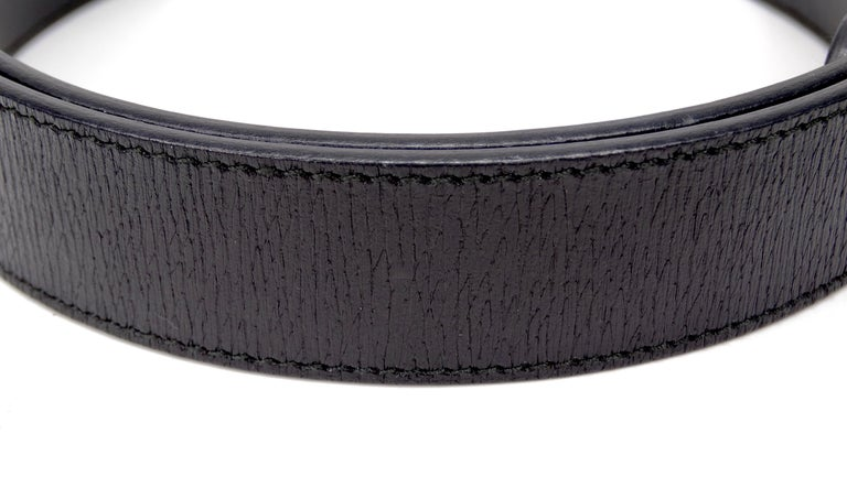 Women's Gucci 1980s Black Dionysus Leather Belt  For Sale