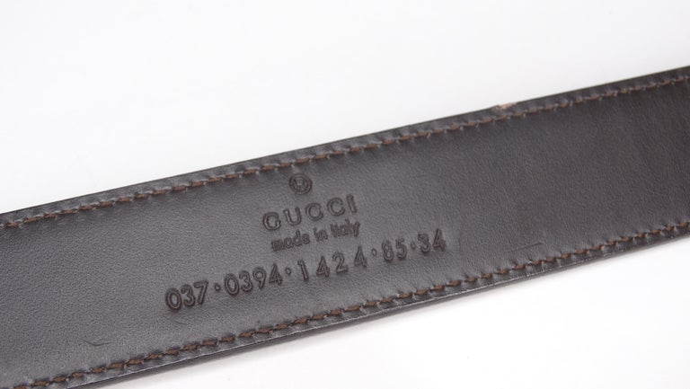Gucci 1980s Tan Dionysus Leather Belt  In Excellent Condition For Sale In Scottsdale, AZ