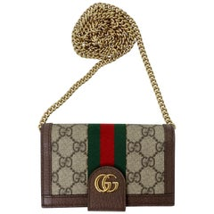 Gucci 2018 Ophidia Canvas Iphone 8 Wallet Case