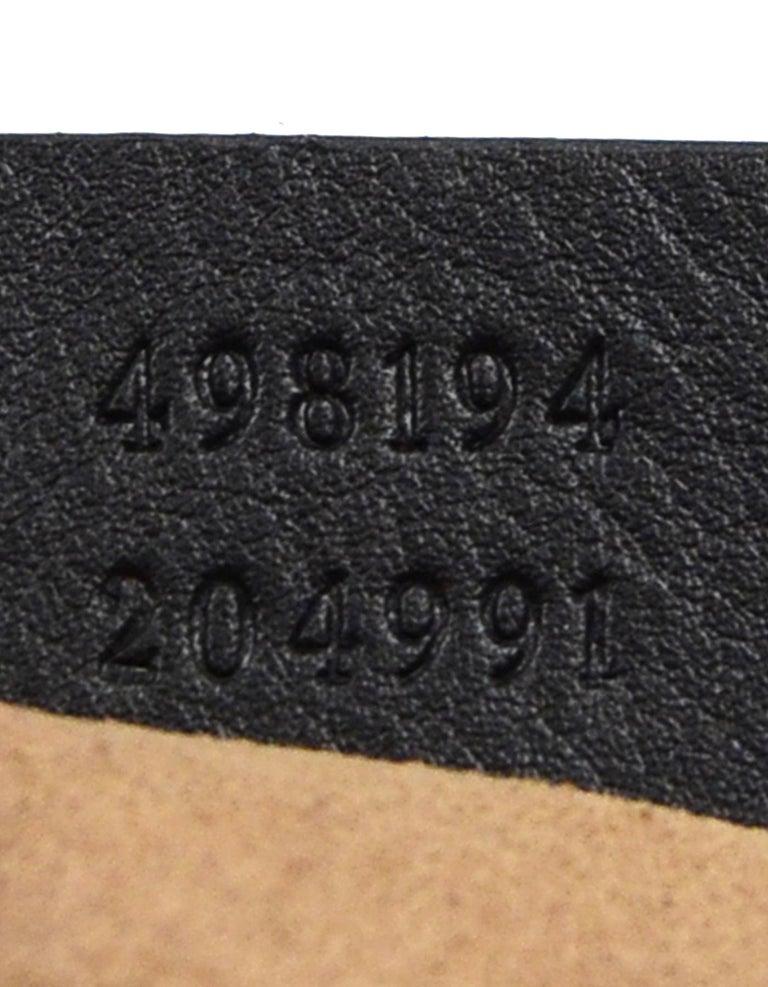 c54abf8309ec Gucci 2019 Monogram GG Supreme Canvas & Leather Padlock Backpack Bag For  Sale 3