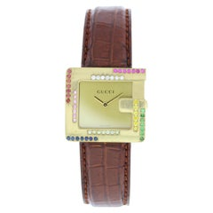 Gucci 3600M 18 Karat Yellow Gold Ladies Watch
