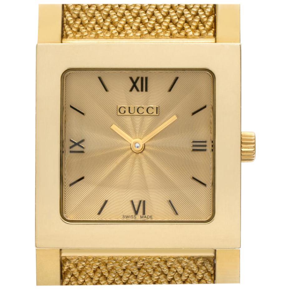 Gucci 7900 M.1 18 Karat Quartz Watch